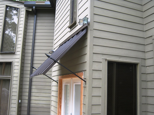 Commercial Metal Awnings La Custom Awnings