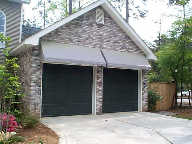 Lovely Garage Door Awnings
