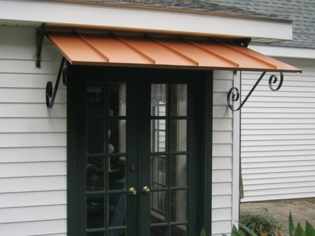 homes aluminum shelters front awnings of house metal weather product for sepio awning